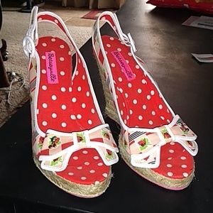 Cute Cherry BETSEY JOHNSON shoes